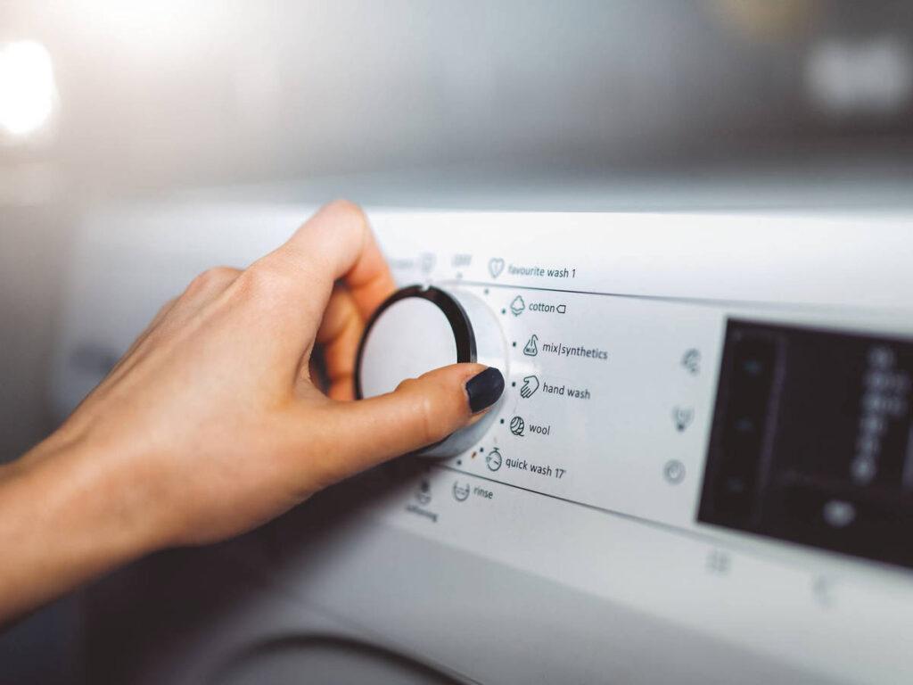 Cómo saber qué programa de lavadora usar