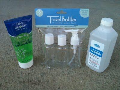 Cómo hacer desinfectante de manos: Gel y spray